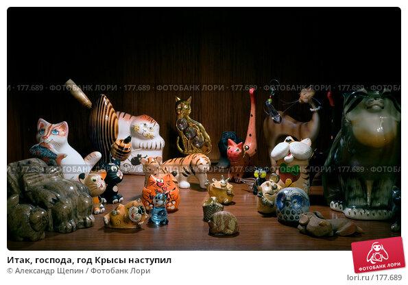 Итак, господа, год Крысы наступил, эксклюзивное фото № 177689, снято 2 января 2008 г. (c) Александр Щепин / Фотобанк Лори
