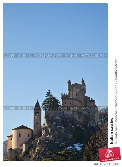 Купить «Italian castles», фото № 9419441, снято 15 сентября 2019 г. (c) PantherMedia / Фотобанк Лори