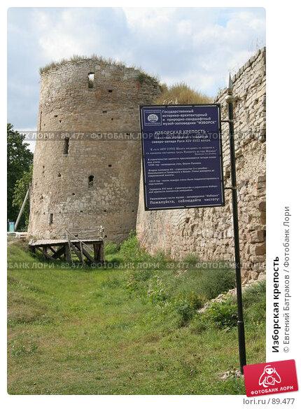Купить «Изборская крепость», фото № 89477, снято 18 августа 2007 г. (c) Евгений Батраков / Фотобанк Лори