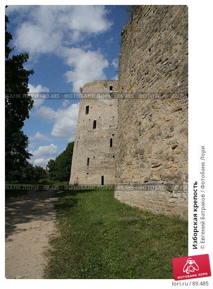 Изборская крепость, фото № 89485, снято 18 августа 2007 г. (c) Евгений Батраков / Фотобанк Лори
