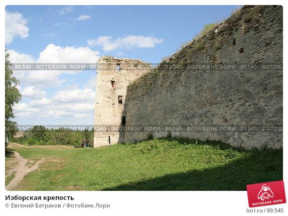 Изборская крепость, фото № 89545, снято 18 августа 2007 г. (c) Евгений Батраков / Фотобанк Лори