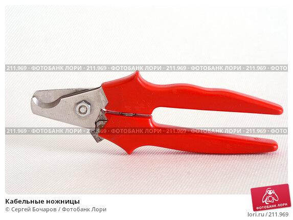 Кабельные ножницы, фото № 211969, снято 27 января 2008 г. (c) Сергей Бочаров / Фотобанк Лори