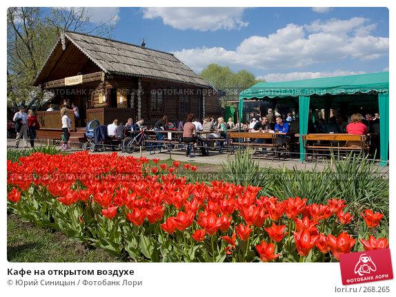 Кафе на открытом воздухе, фото № 268265, снято 27 апреля 2008 г. (c) Юрий Синицын / Фотобанк Лори