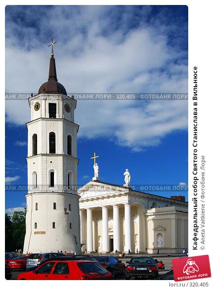 Кафедральный собор Святого Станислава в Вильнюсе, фото № 320405, снято 11 июня 2008 г. (c) Aneta Vaitkiene / Фотобанк Лори