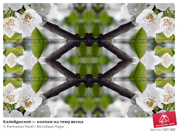 Калейдоскоп — коллаж на тему весна, фото № 287989, снято 10 мая 2008 г. (c) Parmenov Pavel / Фотобанк Лори