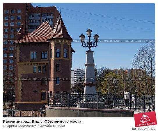 Калининград. Вид с Юбилейного моста., фото № 250377, снято 15 апреля 2007 г. (c) Ирина Борсученко / Фотобанк Лори