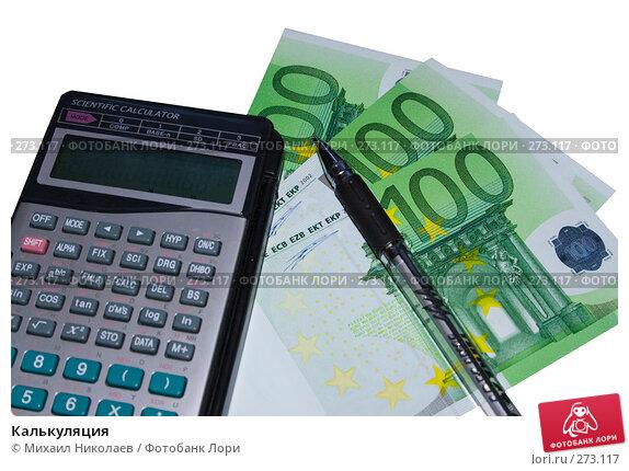 Купить «Калькуляция», фото № 273117, снято 18 апреля 2008 г. (c) Михаил Николаев / Фотобанк Лори