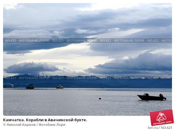 Камчатка. Корабли в Авачинской бухте., фото № 163621, снято 30 июля 2007 г. (c) Николай Коржов / Фотобанк Лори