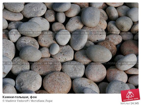 Купить «Камни-голыши, фон», фото № 24345, снято 16 сентября 2006 г. (c) Vladimir Fedoroff / Фотобанк Лори