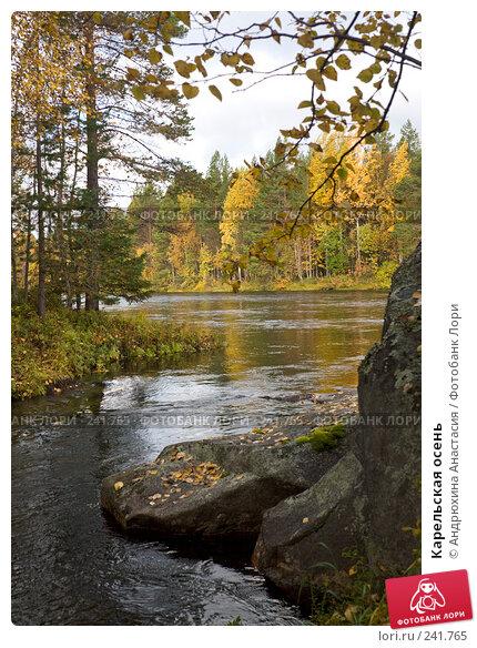 Карельская осень, фото № 241765, снято 23 сентября 2007 г. (c) Андрюхина Анастасия / Фотобанк Лори
