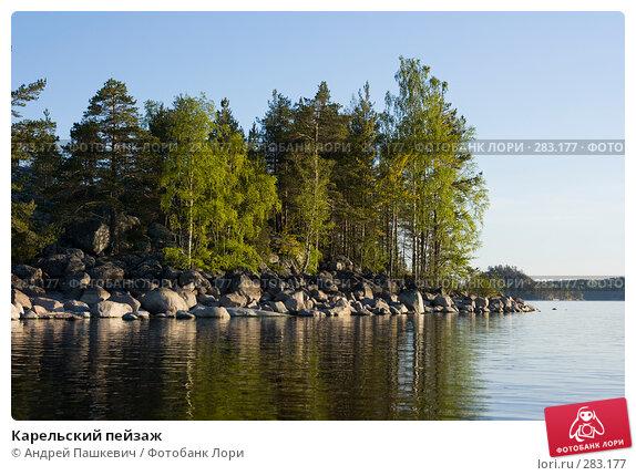 Карельский пейзаж, фото № 283177, снято 3 июня 2007 г. (c) Андрей Пашкевич / Фотобанк Лори