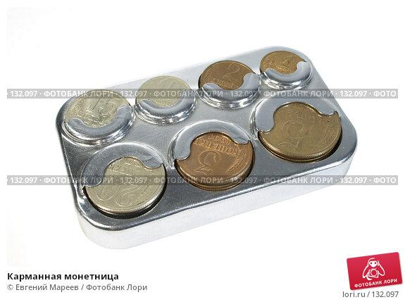 Карманная монетница, фото № 132097, снято 29 ноября 2007 г. (c) Евгений Мареев / Фотобанк Лори