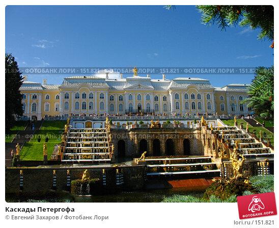 Каскады Петергофа, эксклюзивное фото № 151821, снято 21 июня 2007 г. (c) Евгений Захаров / Фотобанк Лори