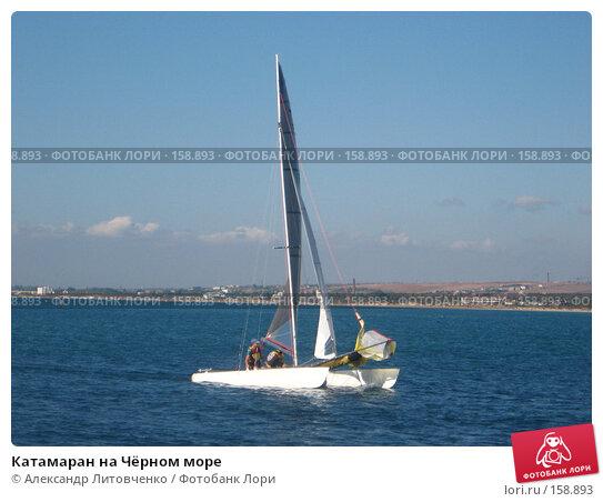 Катамаран на Чёрном море, фото № 158893, снято 18 сентября 2007 г. (c) Александр Литовченко / Фотобанк Лори
