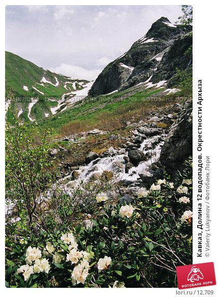 Кавказ, Долина 12 водопадов. Окрестности Архыза, фото № 12709, снято 29 мая 2017 г. (c) Valeriy Lukyanov / Фотобанк Лори