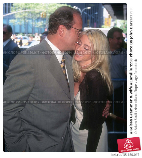 #Kelsey Grammer & wife #Camille 1998.Photo By John BarrettPHOTOlink... Редакционное фото, фотограф Adam Scull / age Fotostock / Фотобанк Лори