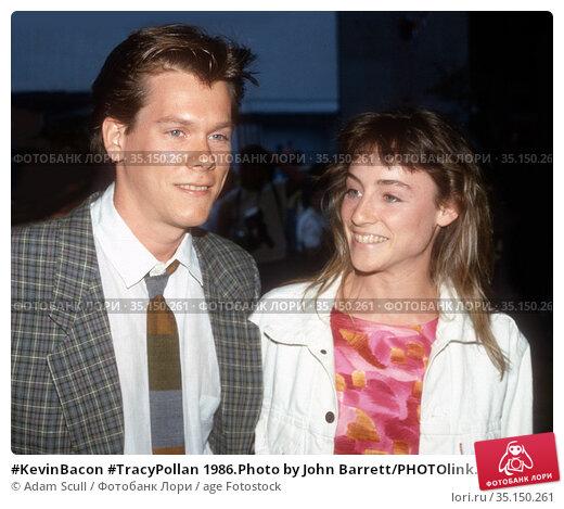 #KevinBacon #TracyPollan 1986.Photo by John Barrett/PHOTOlink.net... Редакционное фото, фотограф Adam Scull / age Fotostock / Фотобанк Лори