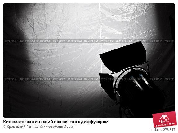Кинематографический прожектор с диффузором, фото № 273817, снято 10 ноября 2006 г. (c) Кравецкий Геннадий / Фотобанк Лори