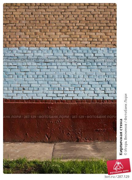Купить «Кирпичная стена», фото № 287129, снято 12 мая 2008 г. (c) Игорь Веснинов / Фотобанк Лори