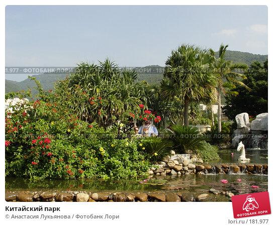 Купить «Китайский парк», фото № 181977, снято 22 ноября 2007 г. (c) Анастасия Лукьянова / Фотобанк Лори