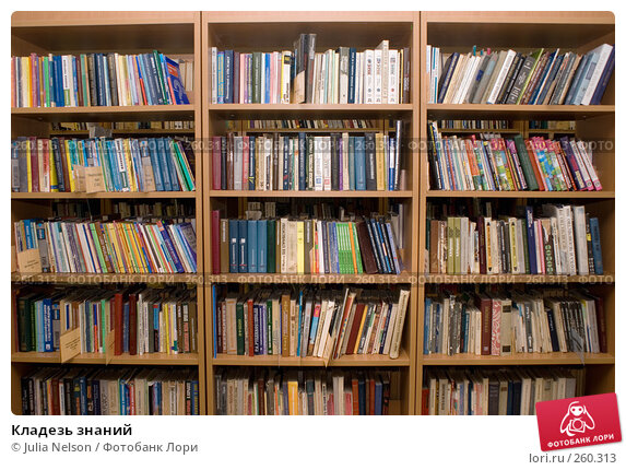 Кладезь знаний, фото № 260313, снято 23 апреля 2008 г. (c) Julia Nelson / Фотобанк Лори