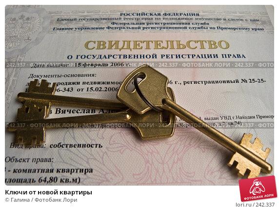 Ключи от новой квартиры, фото № 242337, снято 3 апреля 2008 г. (c) Галина Щеглова / Фотобанк Лори