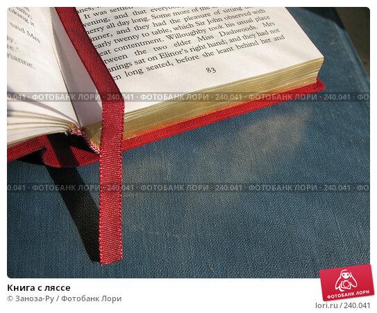 Книга с ляссе, фото № 240041, снято 31 марта 2008 г. (c) Заноза-Ру / Фотобанк Лори
