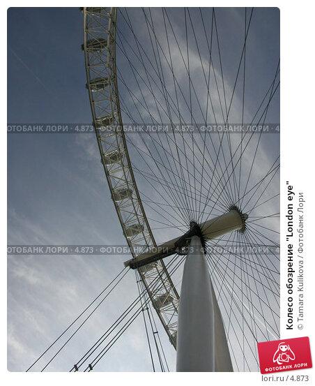 """Колесо обозрение """"London eye"""", фото № 4873, снято 6 сентября 2004 г. (c) Tamara Kulikova / Фотобанк Лори"""