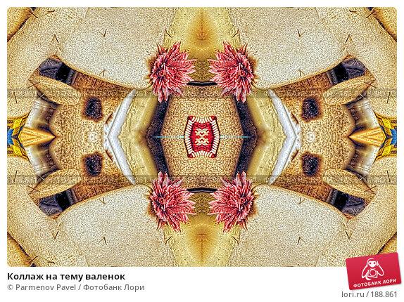 Коллаж на тему валенок, фото № 188861, снято 2 января 2008 г. (c) Parmenov Pavel / Фотобанк Лори