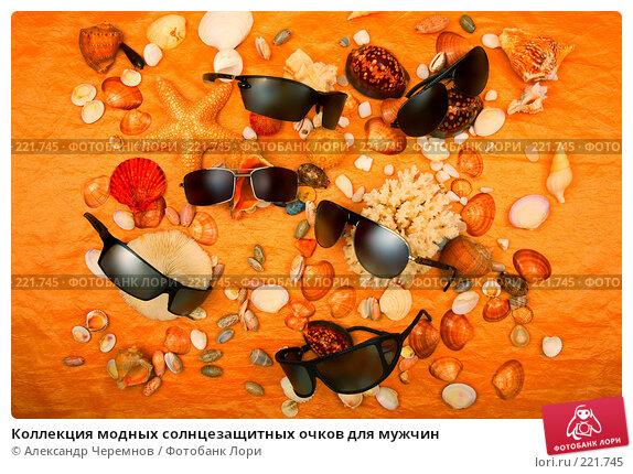 Купить «Коллекция модных солнцезащитных очков для мужчин», фото № 221745, снято 28 апреля 2007 г. (c) Александр Черемнов / Фотобанк Лори