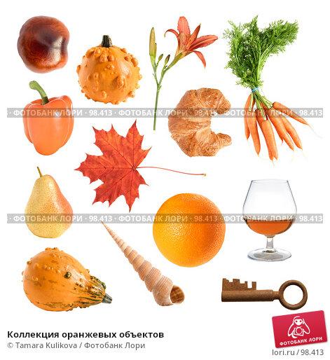 Коллекция оранжевых объектов, фото № 98413, снято 4 декабря 2016 г. (c) Tamara Kulikova / Фотобанк Лори