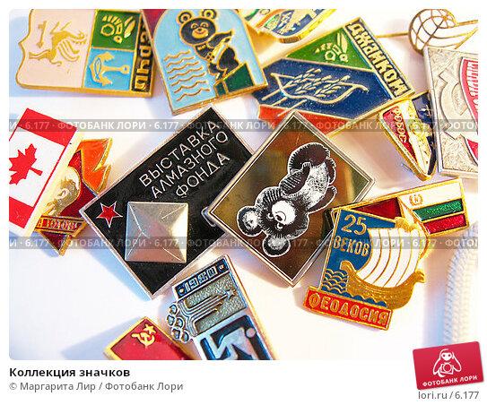 Коллекция значков, фото № 6177, снято 29 июля 2006 г. (c) Маргарита Лир / Фотобанк Лори