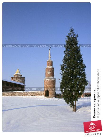 Коломна, кремль., фото № 3525, снято 28 февраля 2017 г. (c) Кузнецов Андрей / Фотобанк Лори