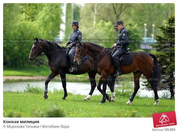 Конная милиция, фото № 49065, снято 23 июня 2017 г. (c) Морозова Татьяна / Фотобанк Лори