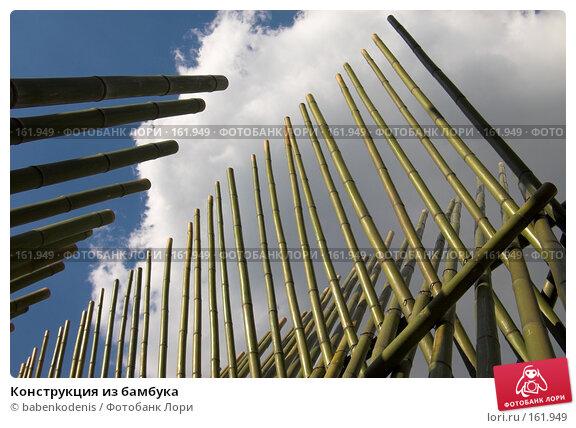 Купить «Конструкция из бамбука», фото № 161949, снято 14 июня 2006 г. (c) Бабенко Денис Юрьевич / Фотобанк Лори