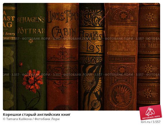 Купить «Корешки старый английских книг », фото № 3557, снято 3 июня 2006 г. (c) Tamara Kulikova / Фотобанк Лори