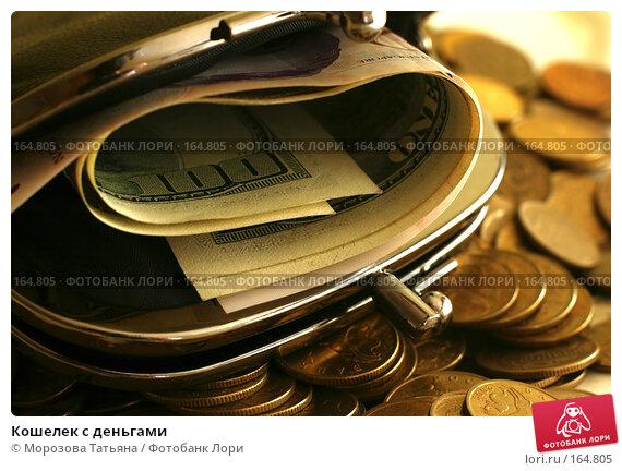 Кошелек с деньгами, фото № 164805, снято 13 декабря 2007 г. (c) Морозова Татьяна / Фотобанк Лори