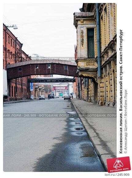 Кожевенная линия. Васильевский остров. Санкт-Петербург, эксклюзивное фото № 245909, снято 6 апреля 2008 г. (c) Александр Щепин / Фотобанк Лори