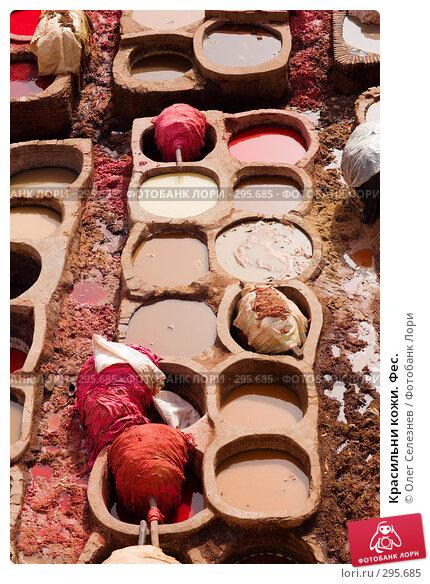 Красильни кожи. Фес., фото № 295685, снято 26 февраля 2008 г. (c) Олег Селезнев / Фотобанк Лори