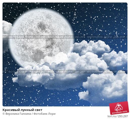 Красивый лунный свет, иллюстрация № 293297 (c) Вероника Галкина / Фотобанк Лори