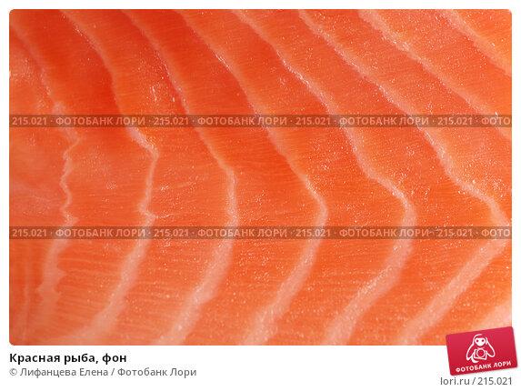 Красная рыба, фон, фото № 215021, снято 4 марта 2008 г. (c) Лифанцева Елена / Фотобанк Лори