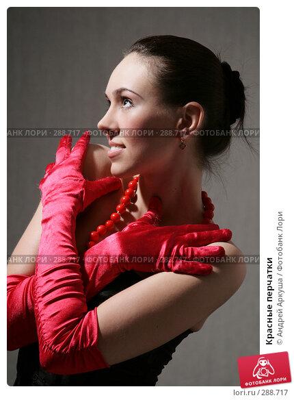 Красные перчатки, фото № 288717, снято 5 апреля 2008 г. (c) Андрей Аркуша / Фотобанк Лори