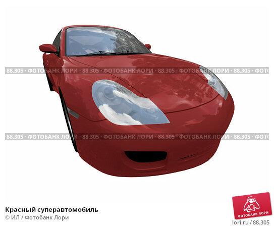 Красный суперавтомобиль, иллюстрация № 88305 (c) ИЛ / Фотобанк Лори