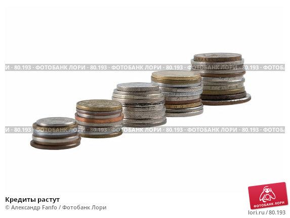 Купить «Кредиты растут», фото № 80193, снято 14 августа 2007 г. (c) Александр Fanfo / Фотобанк Лори