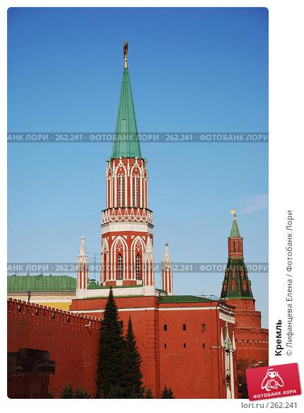 Купить «Кремль», фото № 262241, снято 21 апреля 2008 г. (c) Лифанцева Елена / Фотобанк Лори