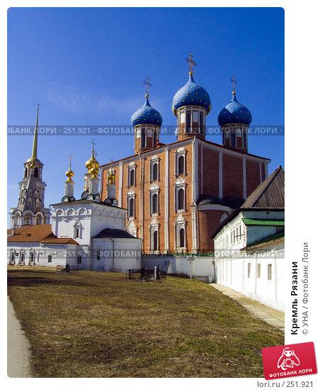 Купить «Кремль Рязани», фото № 251921, снято 29 марта 2008 г. (c) УНА / Фотобанк Лори