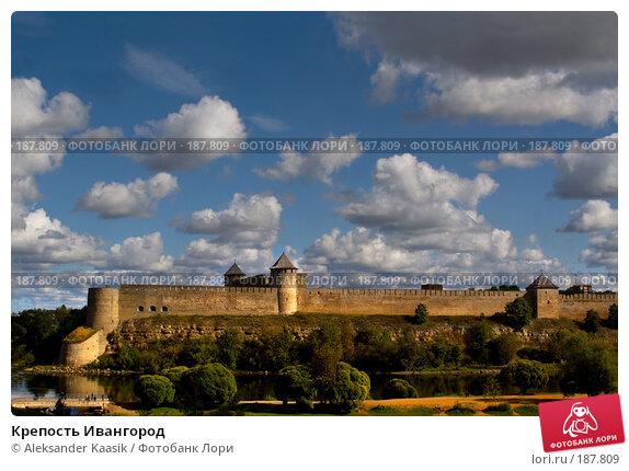 Крепость Ивангород, фото № 187809, снято 30 мая 2017 г. (c) Aleksander Kaasik / Фотобанк Лори