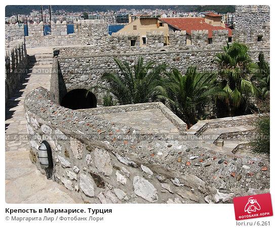 Крепость в Мармарисе. Турция, фото № 6261, снято 12 июля 2006 г. (c) Маргарита Лир / Фотобанк Лори