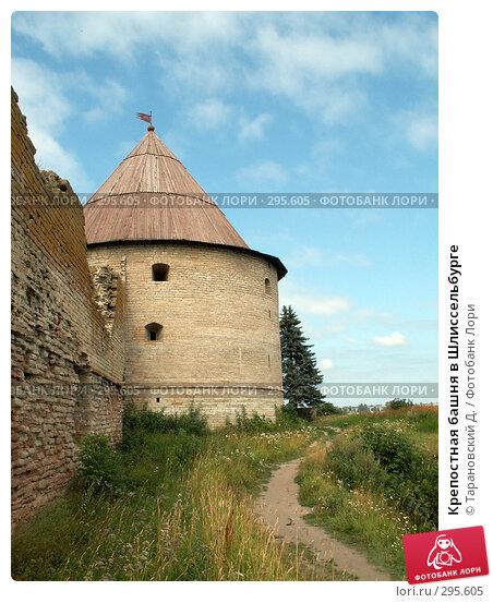 Крепостная башня в Шлиссельбурге, фото № 295605, снято 5 августа 2006 г. (c) Тарановский Д. / Фотобанк Лори