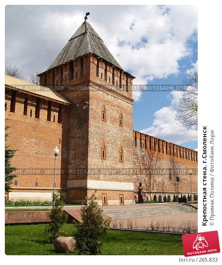 Крепостная стена. г.Смоленск, фото № 265833, снято 26 апреля 2008 г. (c) Примак Полина / Фотобанк Лори